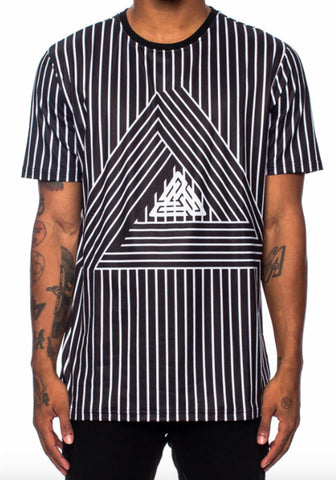 Black Pyramid Maze Tee (BLACK)