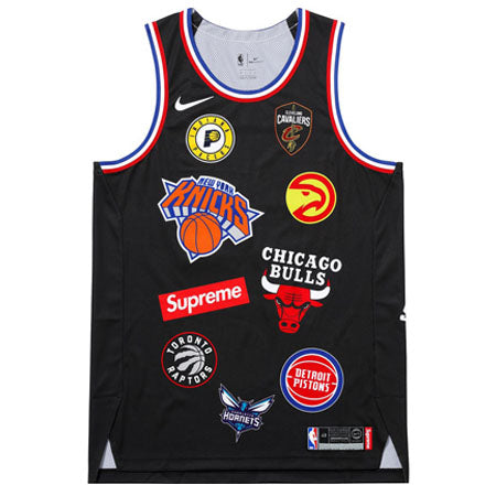 Supreme Nike/NBA Teams Jersey (BLACK)