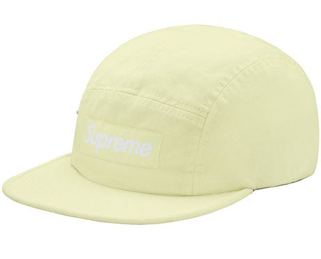 Supreme Side Zip Camp Cap (PALE LIME)