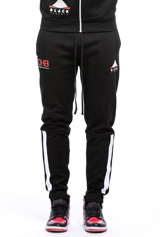 Black Pyramid Logo Track Pant (BLACK)