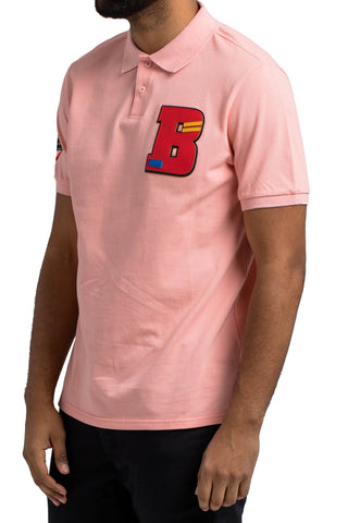 Black Pyramid BP B Polo Shirt (PINK)