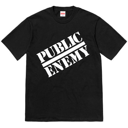 Supreme/Undercover/Public Enemy Tee (BLACK)