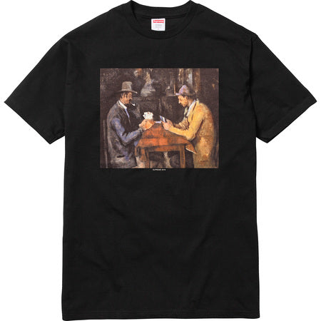 Supreme Cards Tee (BLACK)