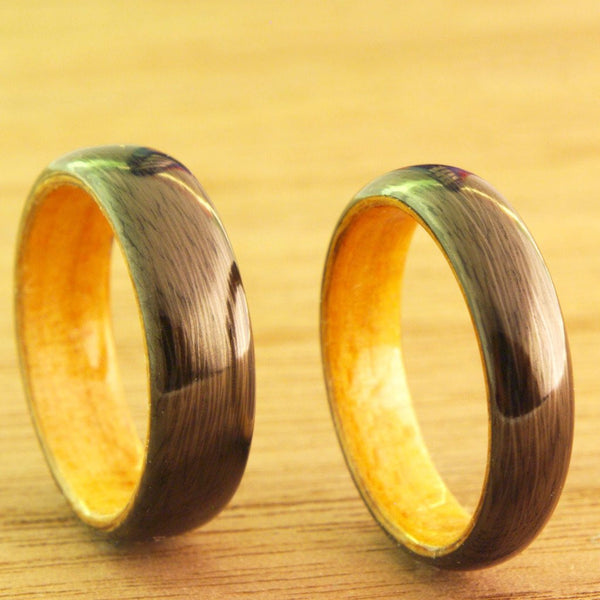 Beech Carbon Fiber Ring - Milkyway