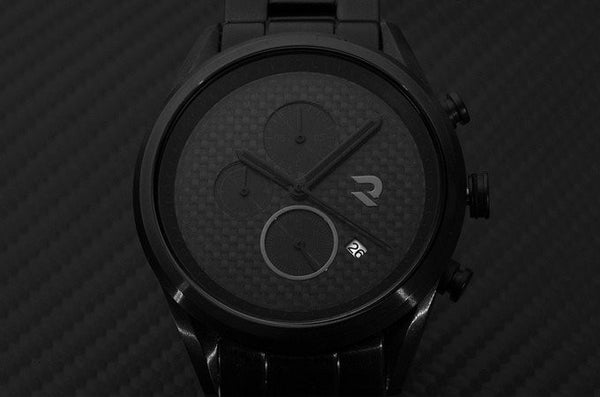 Carbon fiber Watch black