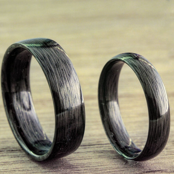 Carbon Fiber ring black