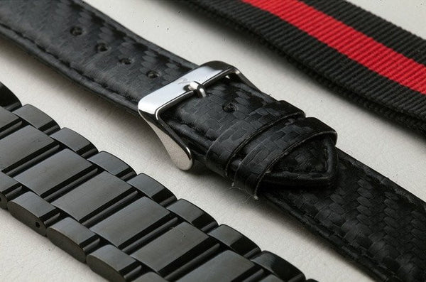 Carbon fiber Watch Red