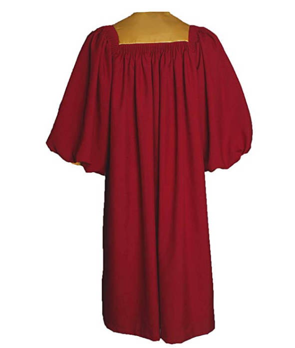Deluxe Choir Robe with Stoles & Cuff Sleeves
