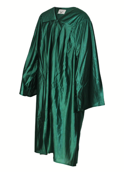 Shiny Green Choir Gown