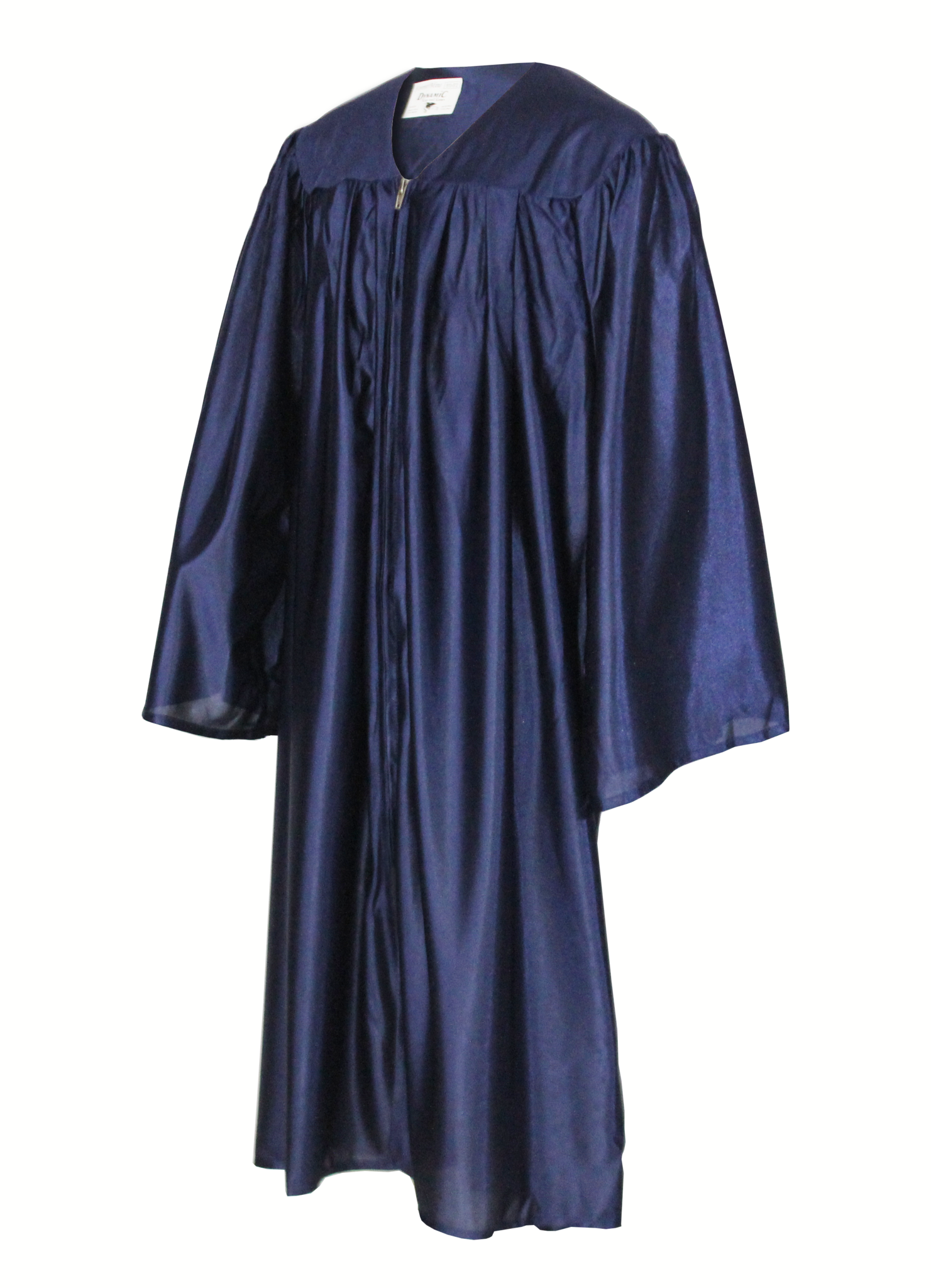Shiny Navy Choir Gown
