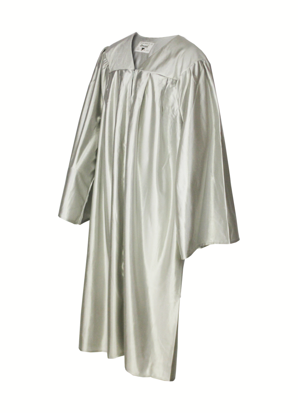 Shiny Silver Choir Gown