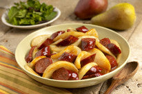 Chorizo and Pears