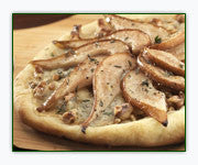 Pear Gorgonzola and Walnut Pizza