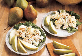 Almond, Chicken and Pear Salad