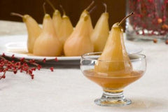Tazo Organic Spicy-Ginger Poached Pears