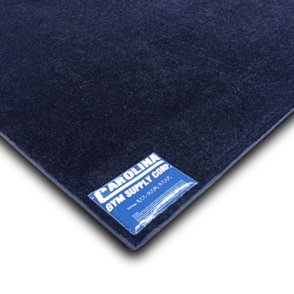 Carolina Gym Supply Floor Exercise Carpet Super Fine Darkest Denim