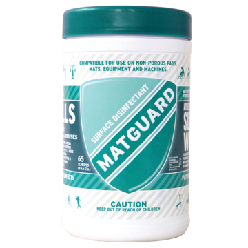 MATGUARD®XL Surface Disinfectant Wipes (LOW STOCK)