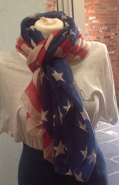 """Stars and Stripes"" Scarf - Klara Haloho - 2"
