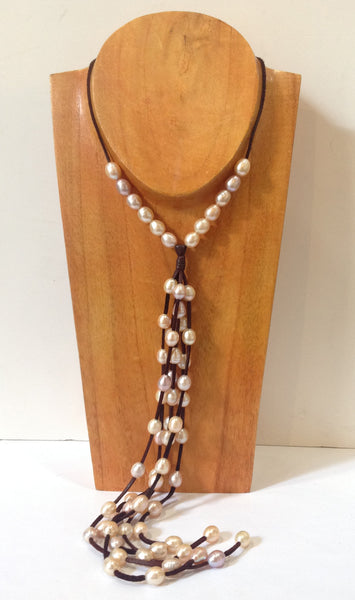 """All You Need"" Adjustable Freshwater Pearl Necklace - Klara Haloho - 2"