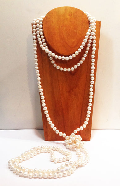 """The Classic"" Freshwater Pearl Necklace - Klara Haloho - 2"