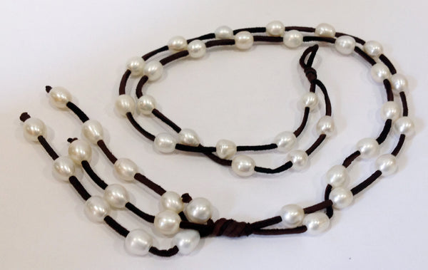 """Night on the Town"" Freshwater Pearl Necklace - Klara Haloho - 9"