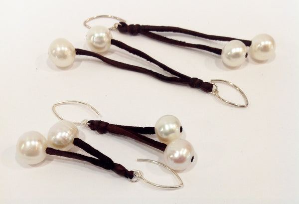 """Sweet Cherries"" Freshwater Pearl Earrings - Klara Haloho - 7"
