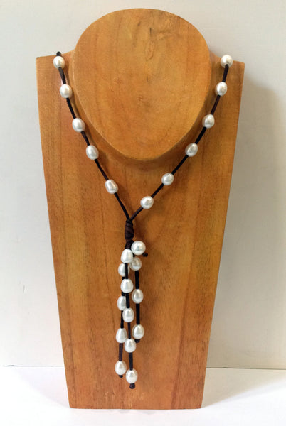 """Night on the Town"" Freshwater Pearl Necklace - Klara Haloho - 3"