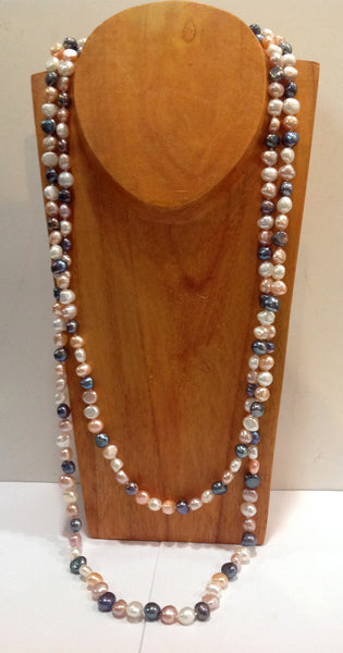 """The Baroque Classic"" Freshwater Pearl Necklace - Klara Haloho - 2"