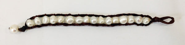 """Lily of the Valley"" Freshwater Pearl Bracelet - Klara Haloho - 3"