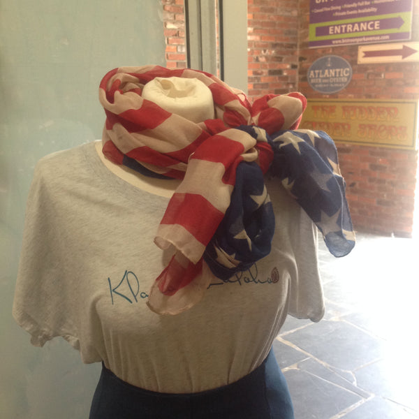 """Stars and Stripes"" Scarf - Klara Haloho - 3"