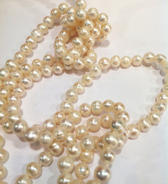 """The Classic"" Freshwater Pearl Necklace - Klara Haloho - 3"