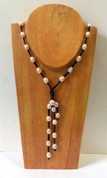 """Night on the Town"" Freshwater Pearl Necklace - Klara Haloho - 4"