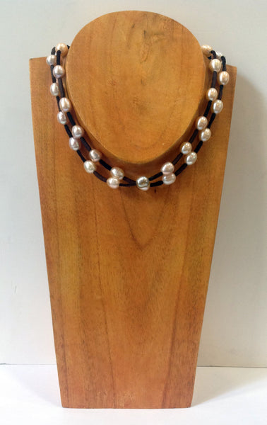 """Night on the Town"" Freshwater Pearl Necklace - Klara Haloho - 6"