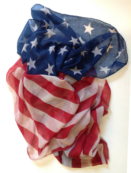"""Stars and Stripes"" Scarf - Klara Haloho - 1"
