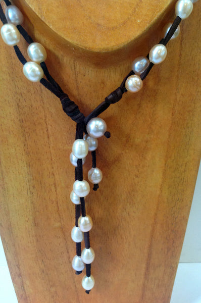 """Night on the Town"" Freshwater Pearl Necklace - Klara Haloho - 8"