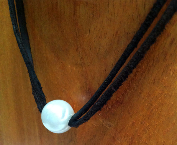 """All Around Town"" Tahitian and Freshwater Pearl Necklace - Klara Haloho - 2"