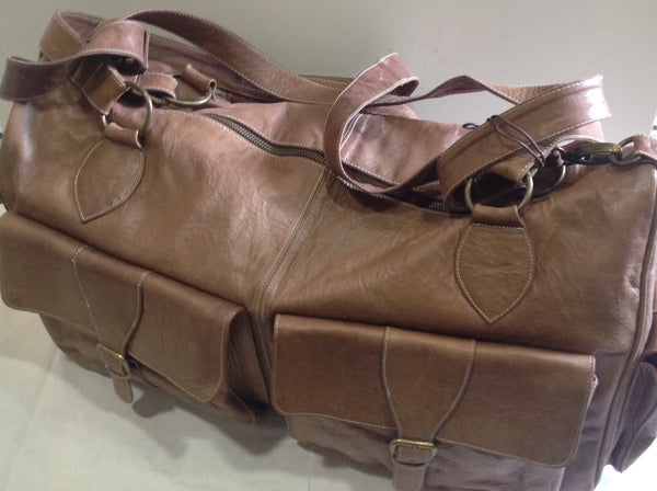 Leather Duffel - Klara Haloho - 2