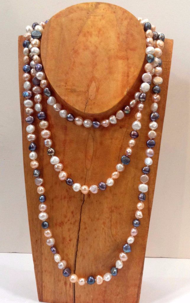 """The Baroque Classic"" Freshwater Pearl Necklace - Klara Haloho - 1"
