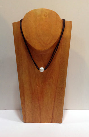 """All Around Town"" Tahitian and Freshwater Pearl Necklace - Klara Haloho - 1"