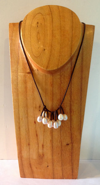 """Unfringed"" Freshwater Pearl Necklace - Klara Haloho - 2"