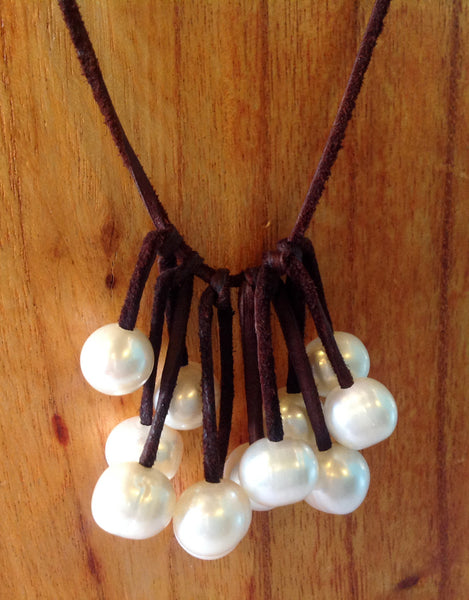 """Unfringed"" Freshwater Pearl Necklace - Klara Haloho - 5"