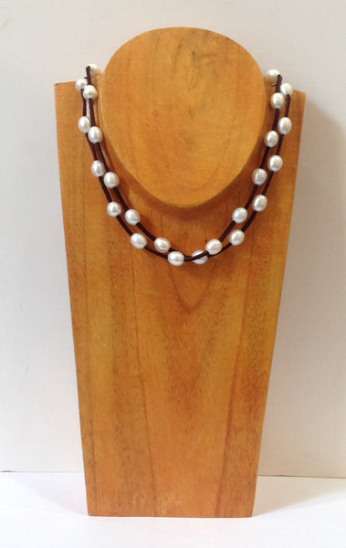 """Night on the Town"" Freshwater Pearl Necklace - Klara Haloho - 5"