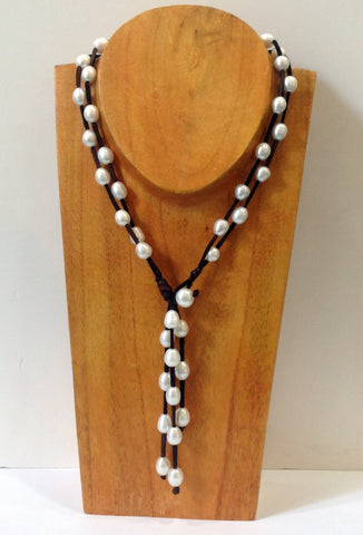 """Night on the Town"" Freshwater Pearl Necklace - Klara Haloho - 1"