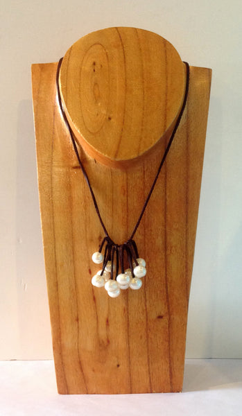 """Unfringed"" Freshwater Pearl Necklace - Klara Haloho - 4"