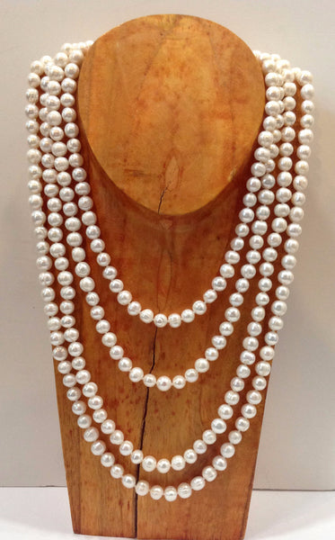 """The Classic"" Freshwater Pearl Necklace - Klara Haloho - 1"