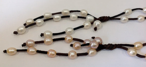 """Night on the Town"" Freshwater Pearl Necklace - Klara Haloho - 10"