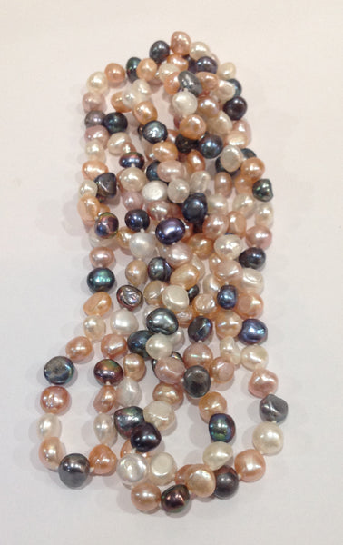 """The Baroque Classic"" Freshwater Pearl Necklace - Klara Haloho - 4"