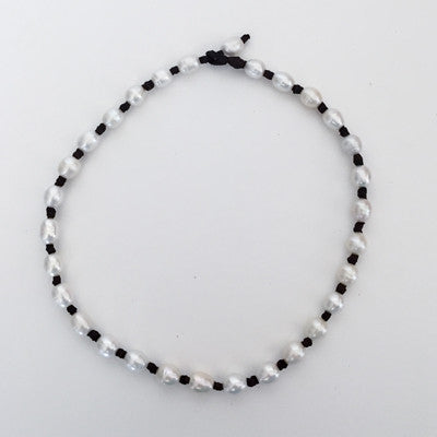 """Knot Another Classic"" Freshwater Pearl Necklace - Klara Haloho - 6"