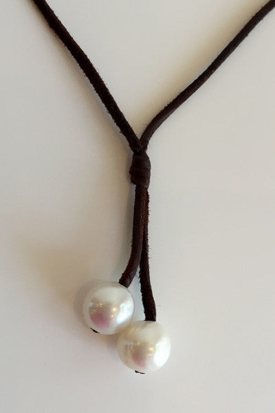 """Sweet Cherries"" Freshwater Pearl Necklace - Klara Haloho - 3"