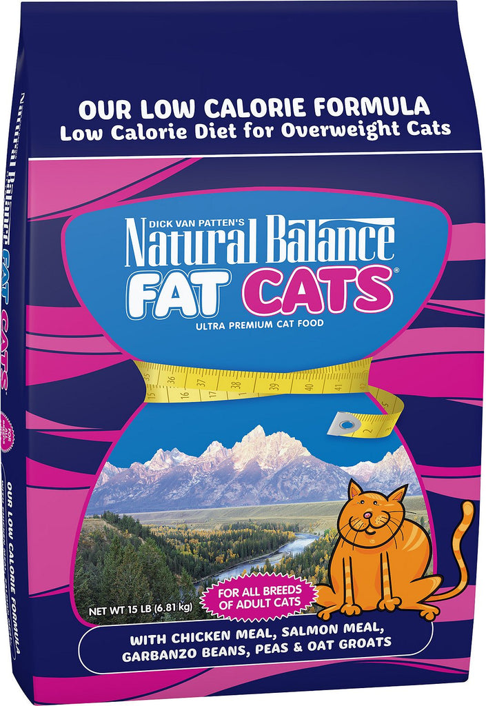 Natural Balance Fat Cat Dry Cat Food 6lb